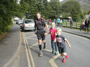 One of the proudest moments of my life, crossing the finish line with Katie & Adam x